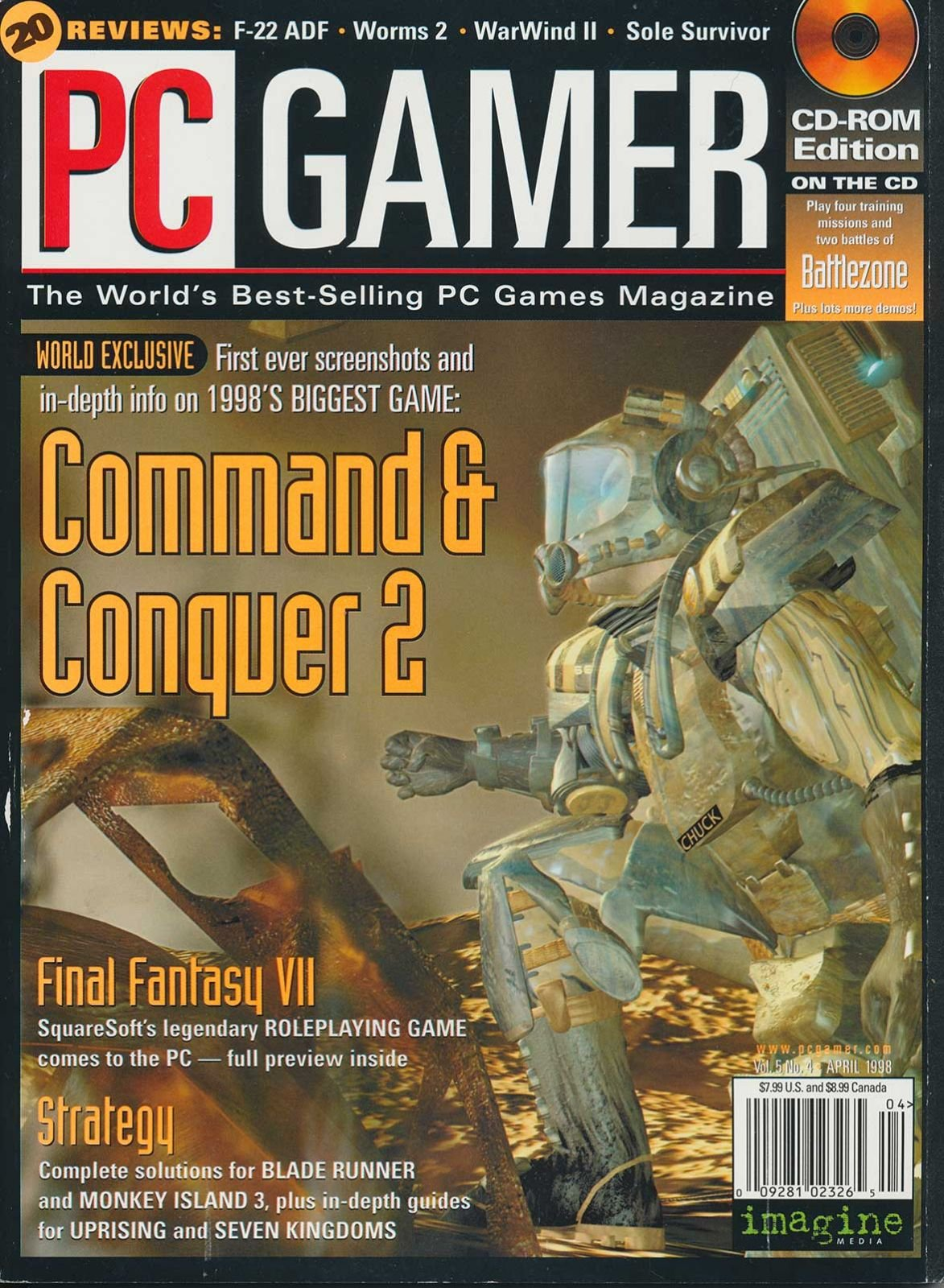 PC Gamer Issue 047 April 1998