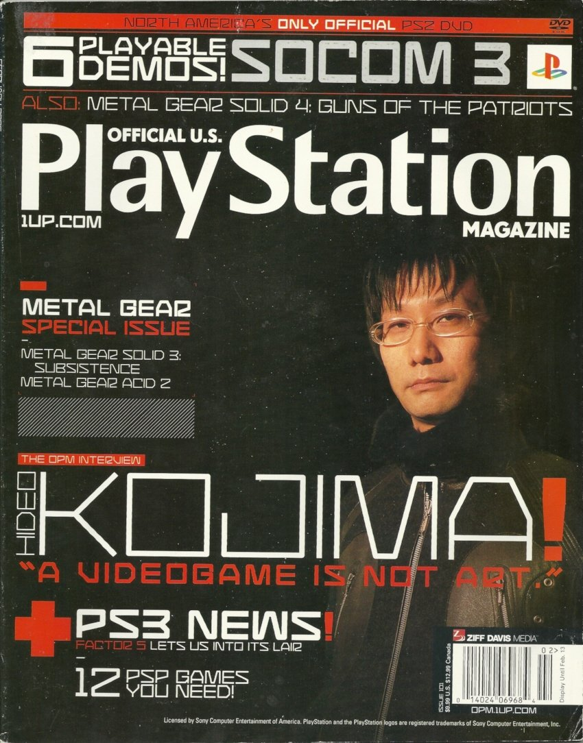 Official U.S. PlayStation Magazine Issue 101 (February 2006)