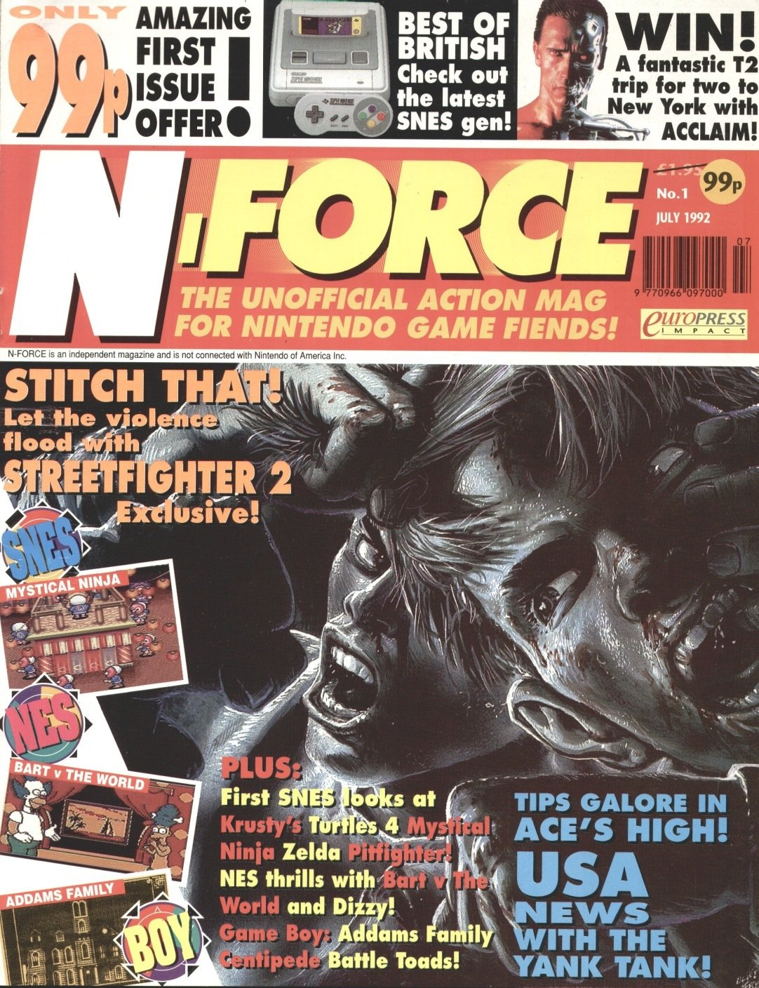 N Force Issue 01