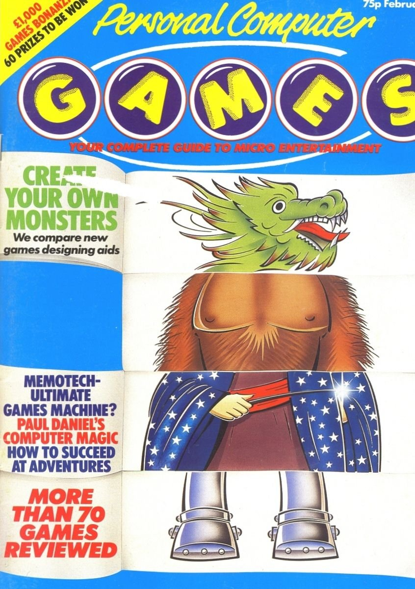 Personal Computer Games Issue 3