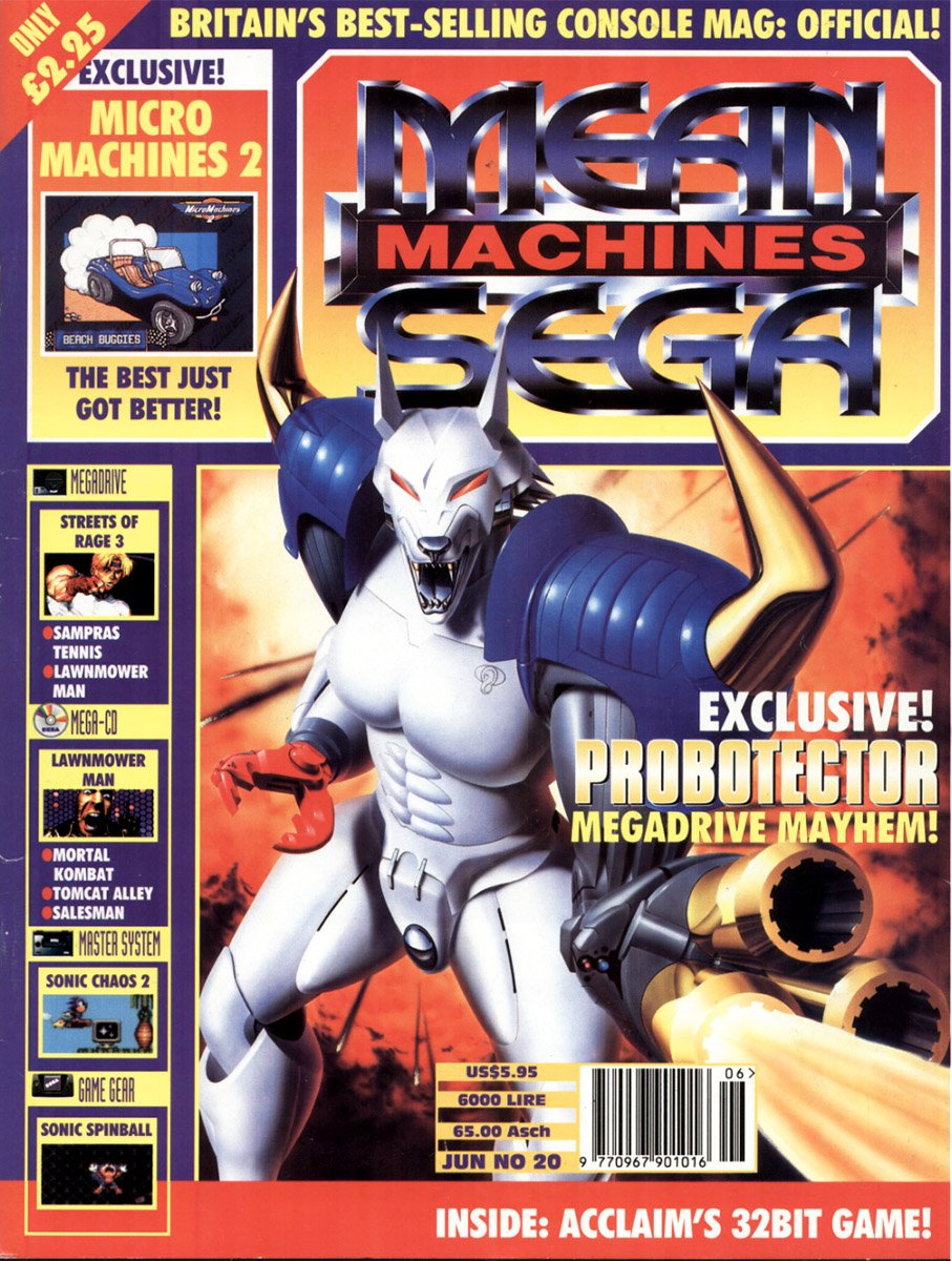 Mean Machines Sega Issue 20 (June 1994)