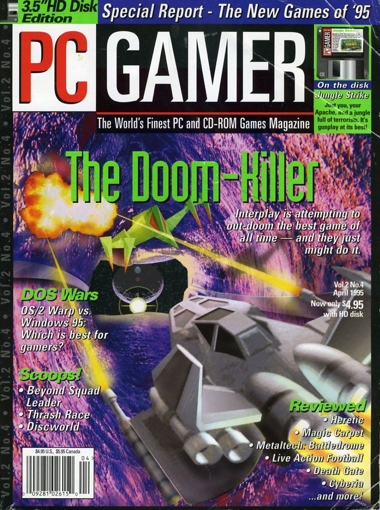 PC Gamer Issue 011 April 1995