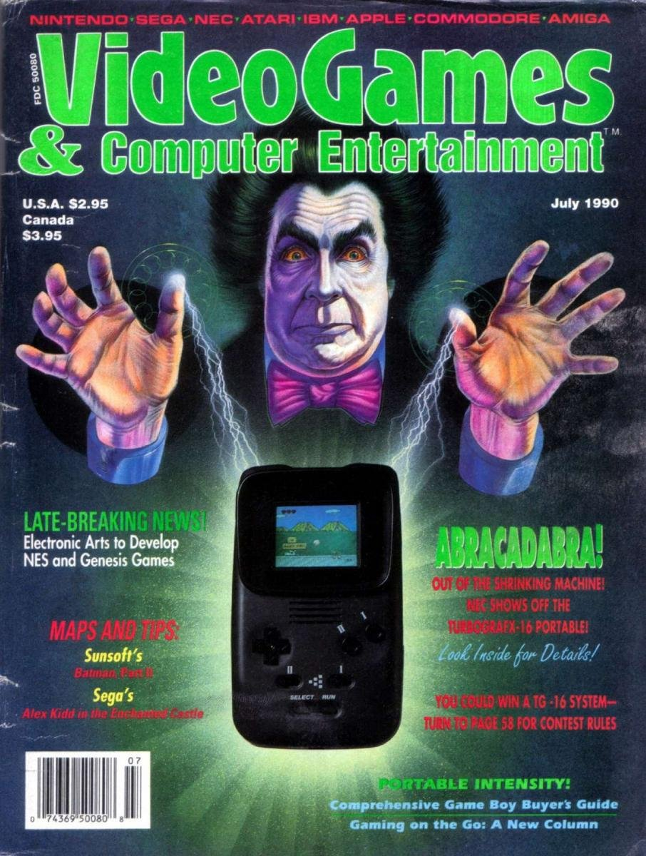 Video Games & Computer Entertainment Issue 18 July 1990