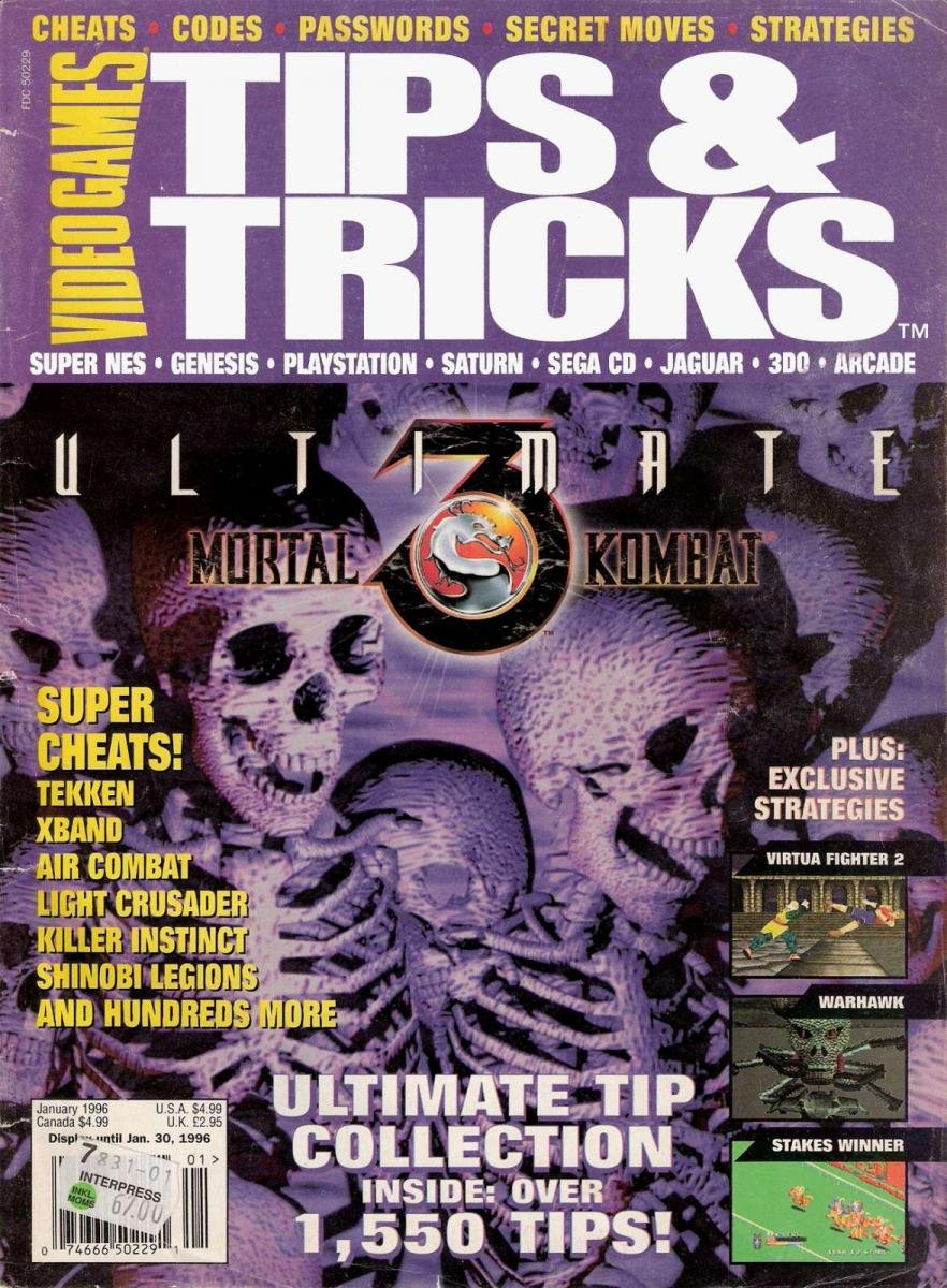 Tips & Tricks Issue 011 January 1996