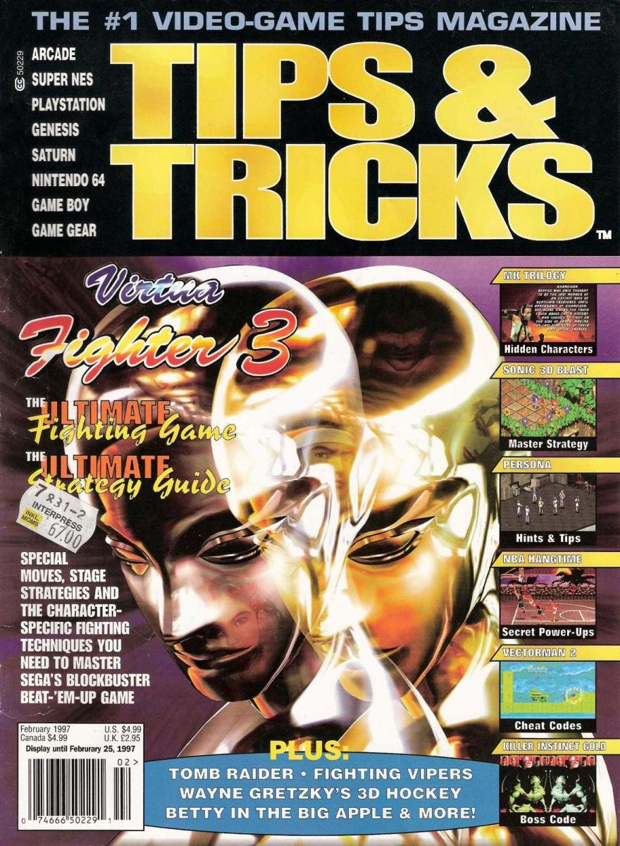 Tips & Tricks Issue 024 February 1997
