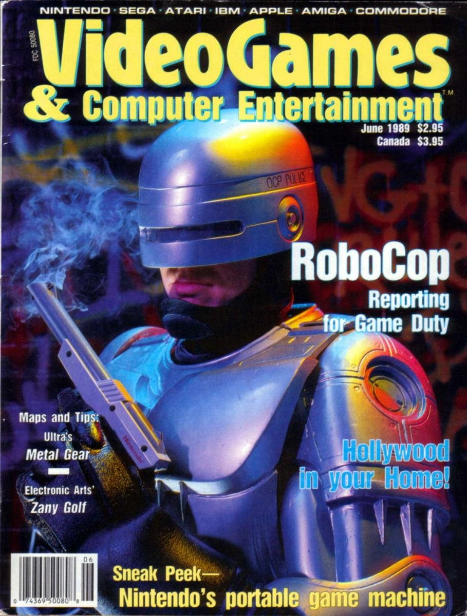 Video Games & Computer Entertainment Issue 05 June 1989