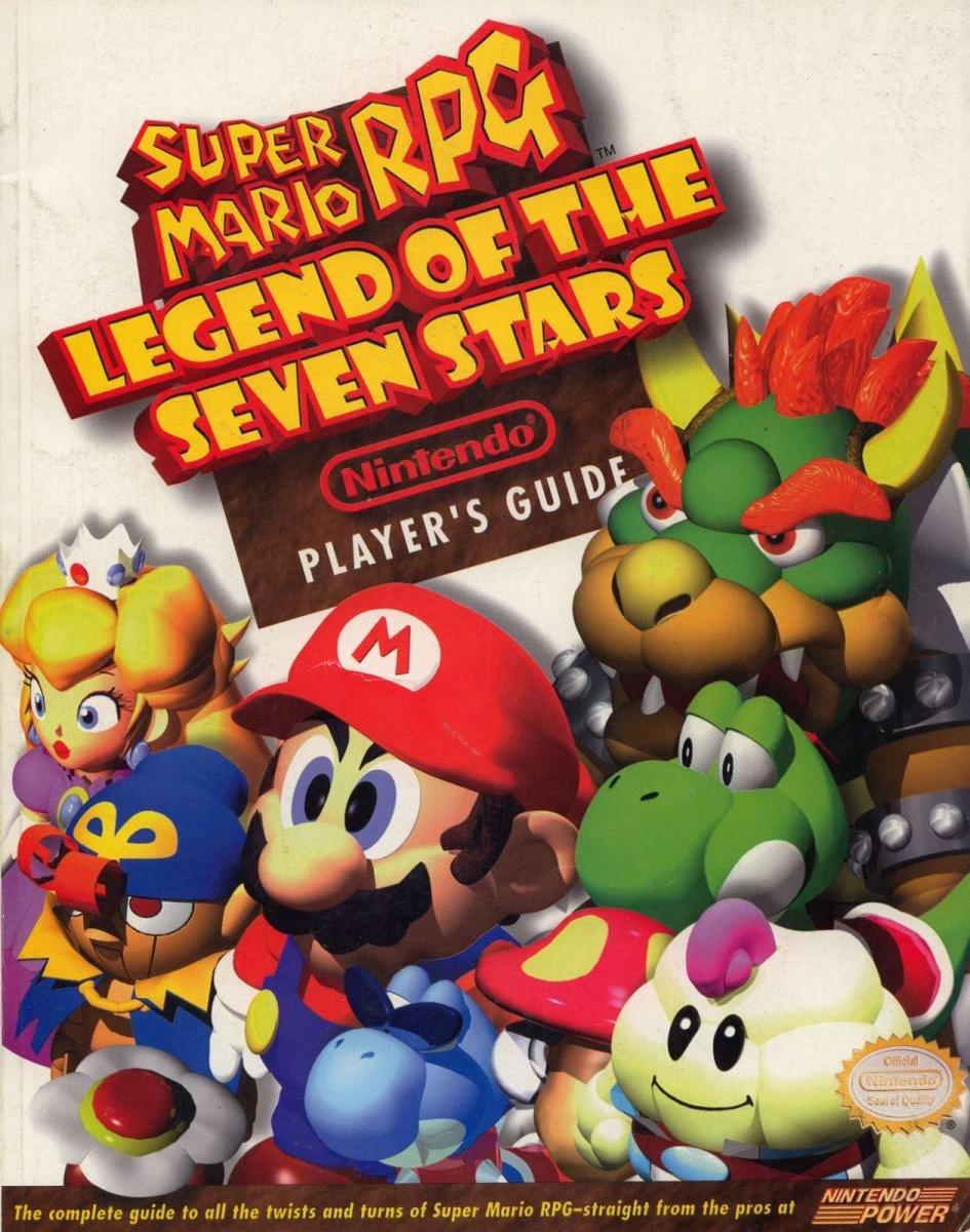 Super Mario RPG - Legend of the Seven Stars Nintendo Player's Guide