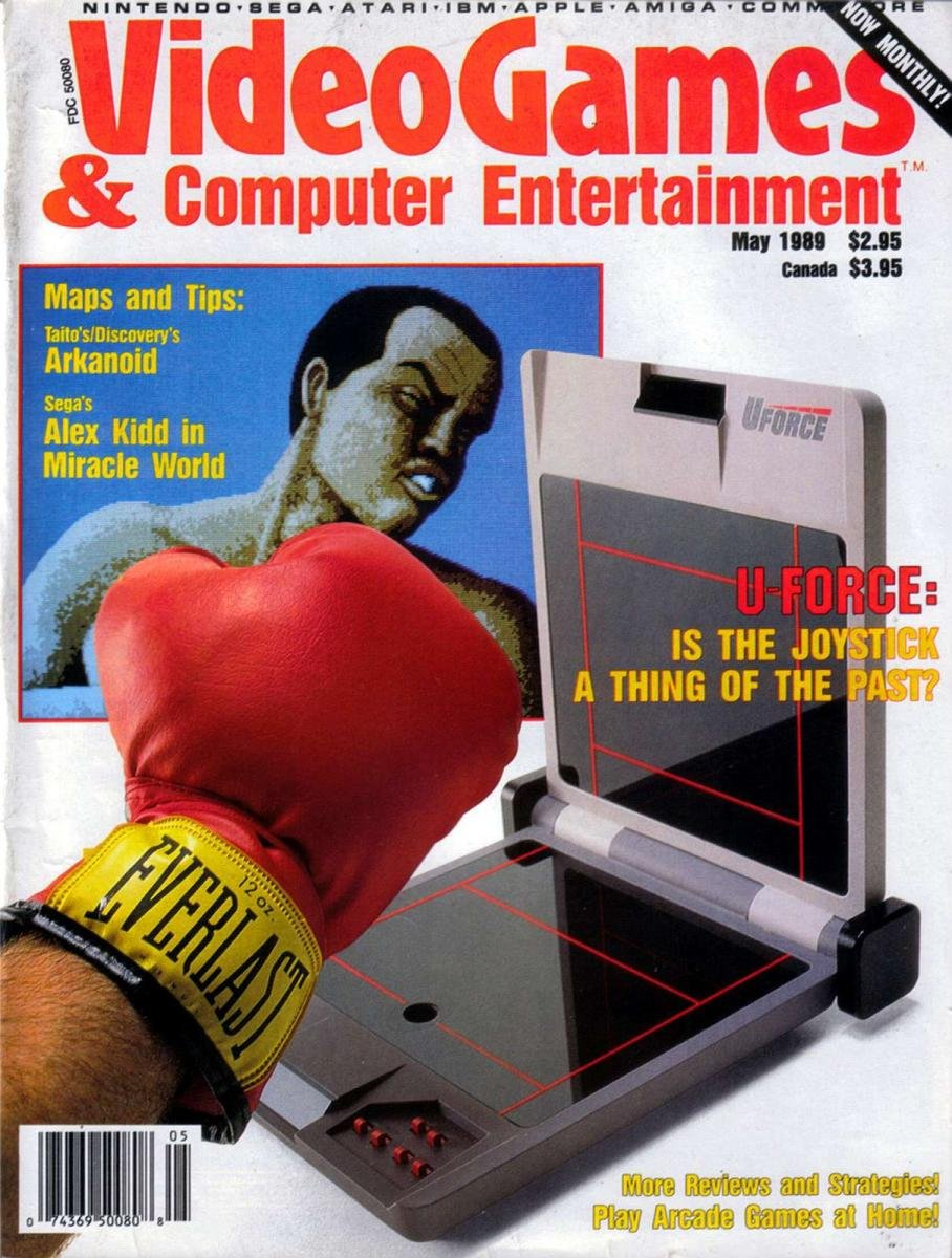 Video Games & Computer Entertainment Issue 04 May 1989