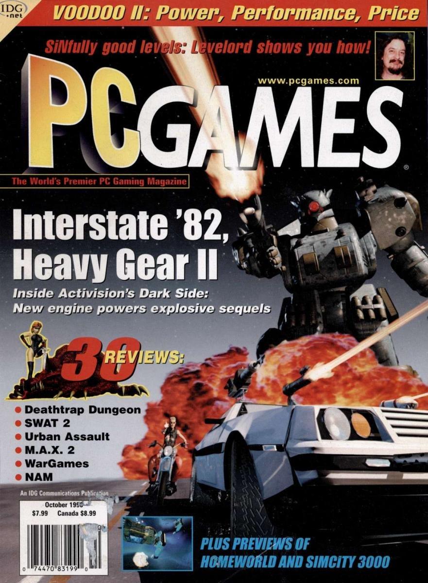 PC Games Vol. 05 No. 08 (October 1998)