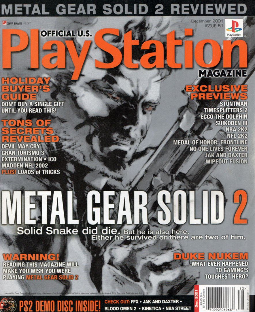 Official U.S. PlayStation Magazine Issue 051 (December 2001)