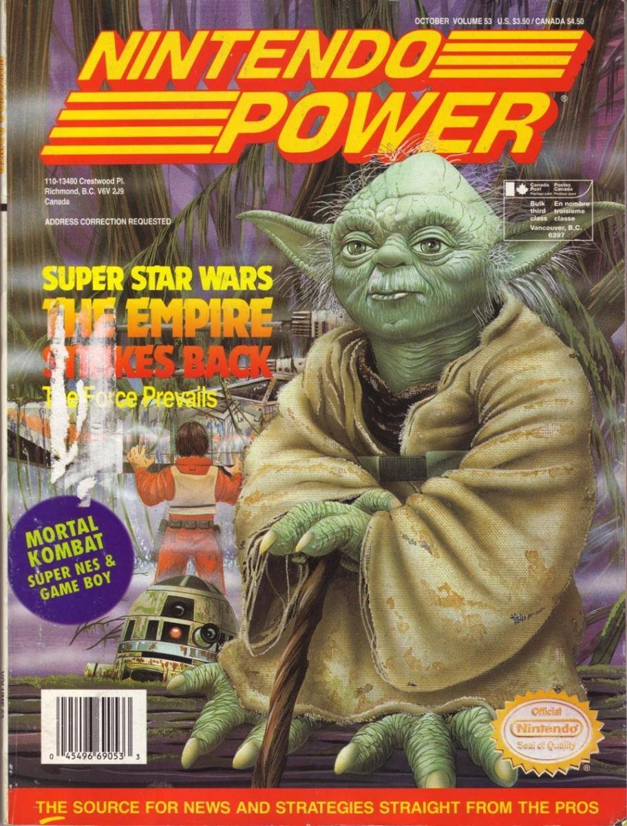 Nintendo Power Issue 053 (October 1993)