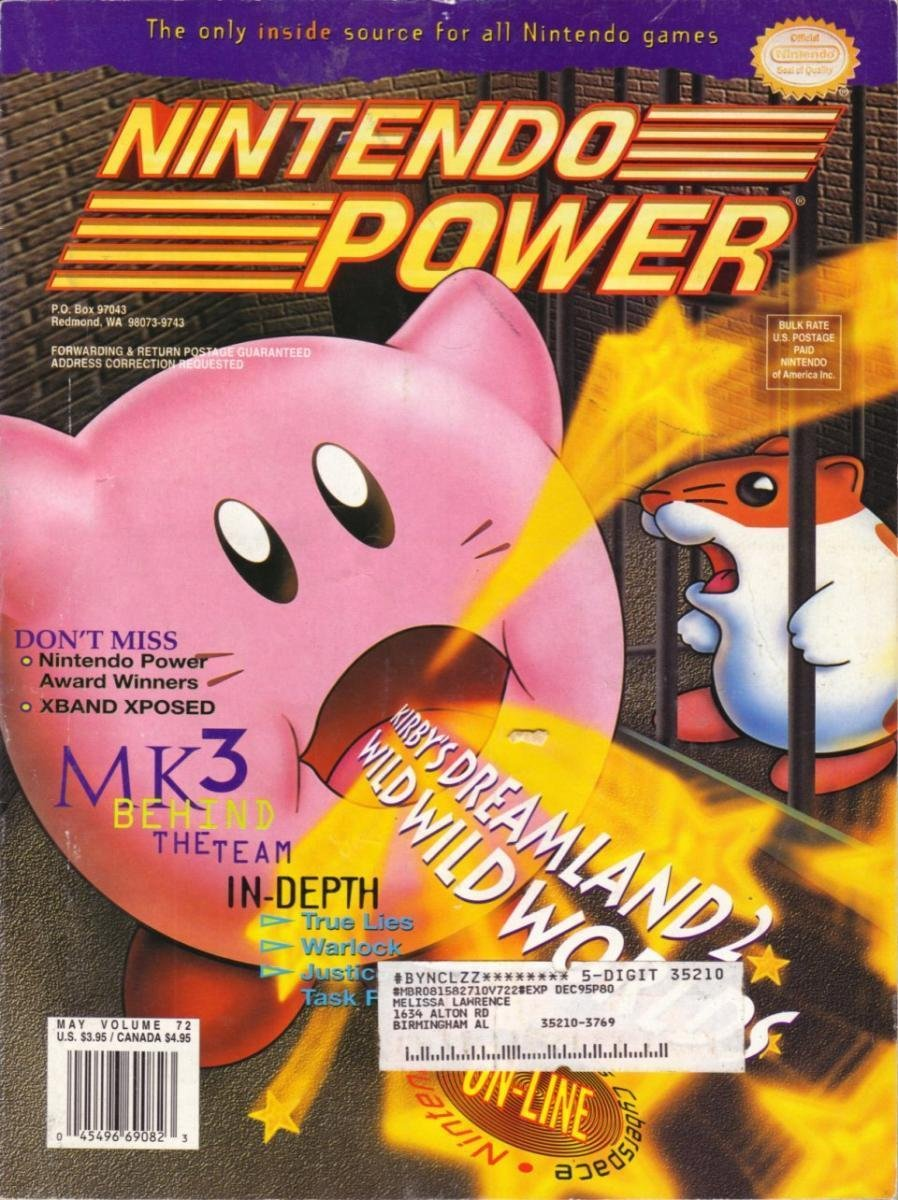 Nintendo Power Issue 072 (May 1995)