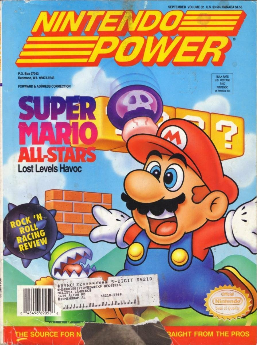 Nintendo Power Issue 052 (September 1993)