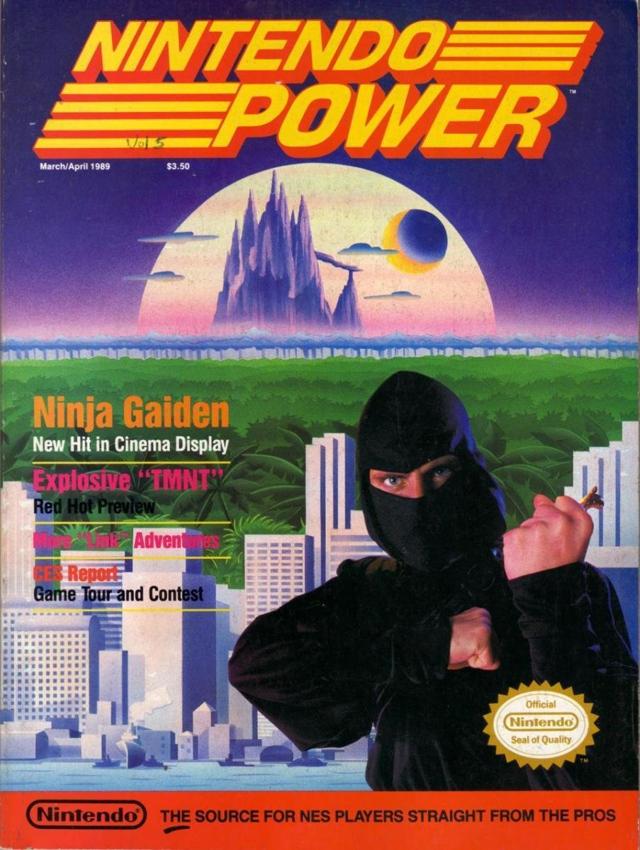 Nintendo Power Issue 005 (March/April 1989)