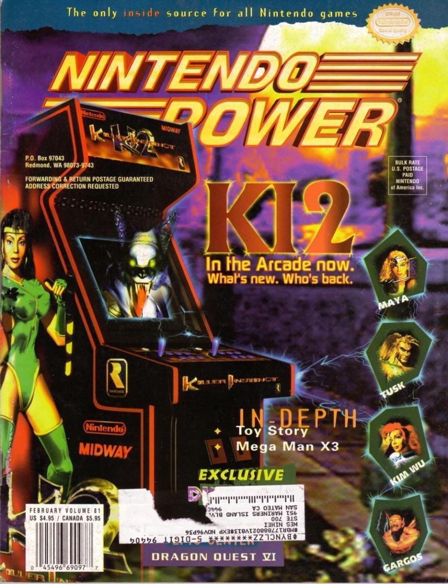 Nintendo Power Issue 081 (February 1996)