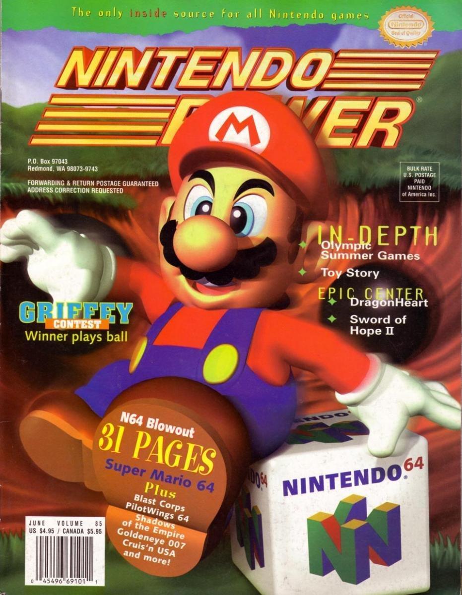 Nintendo Power Issue 085 (June 1996)