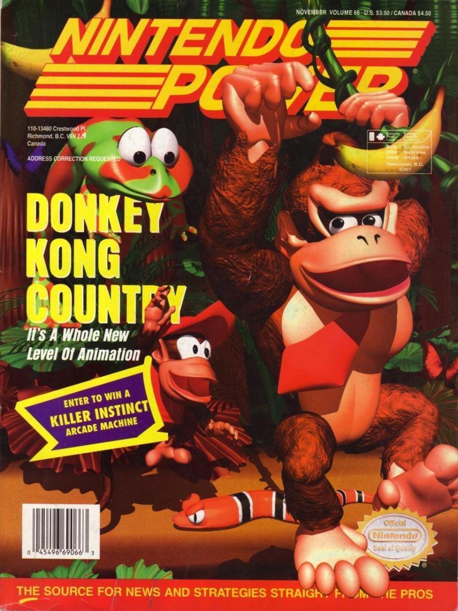Nintendo Power Issue 066 (November 1994)