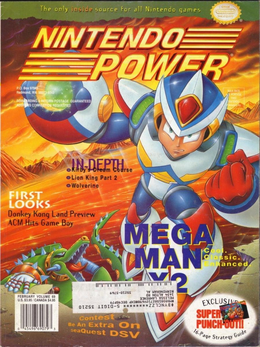 Nintendo Power Issue 069 (February 1995)