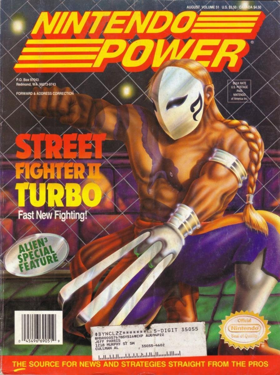 Nintendo Power Issue 051 (August 1993)