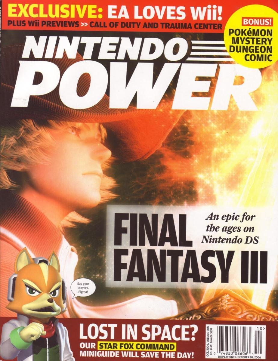 Nintendo Power Issue 208 (October 2006)