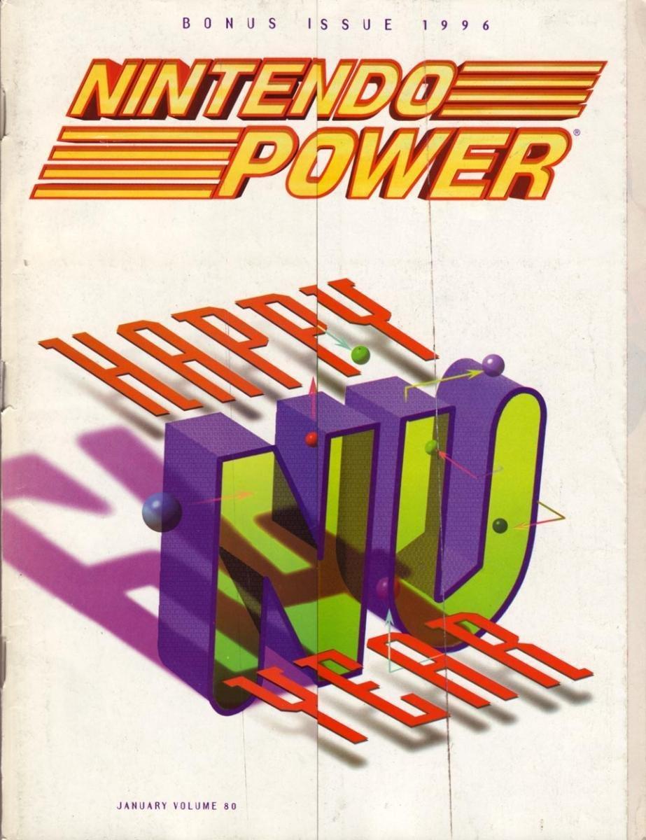Nintendo Power Issue 080 (January 1996)