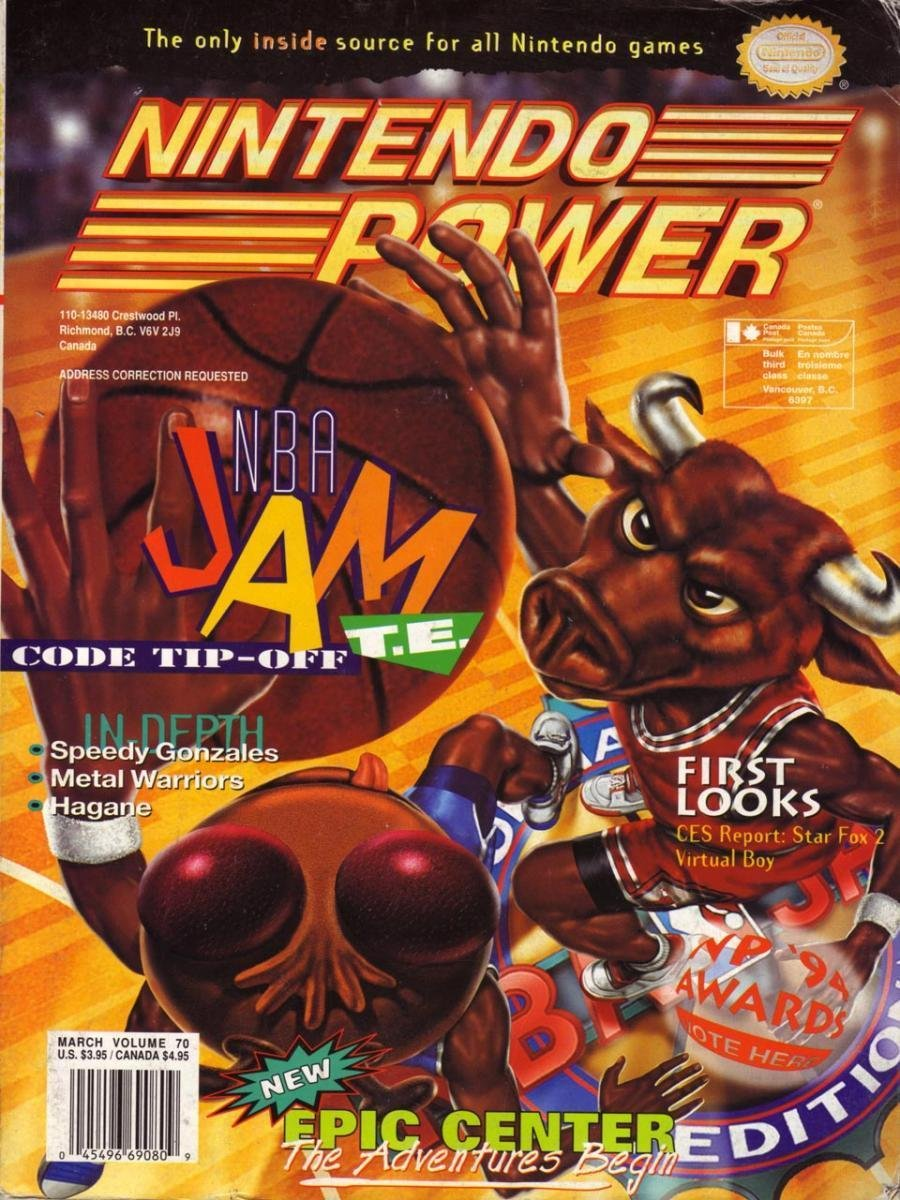 Nintendo Power Issue 070 (March 1995)