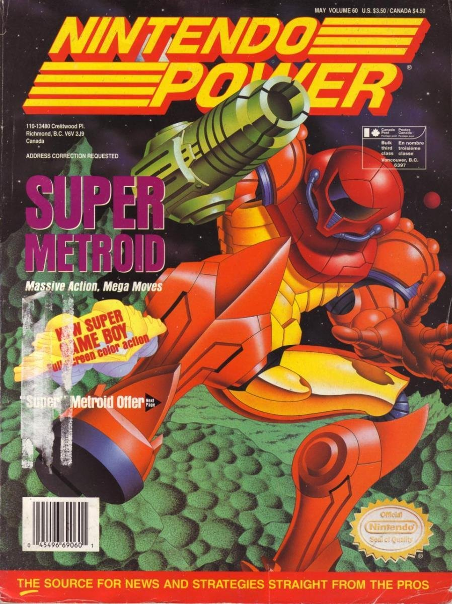 Nintendo Power Issue 060 (May 1994)