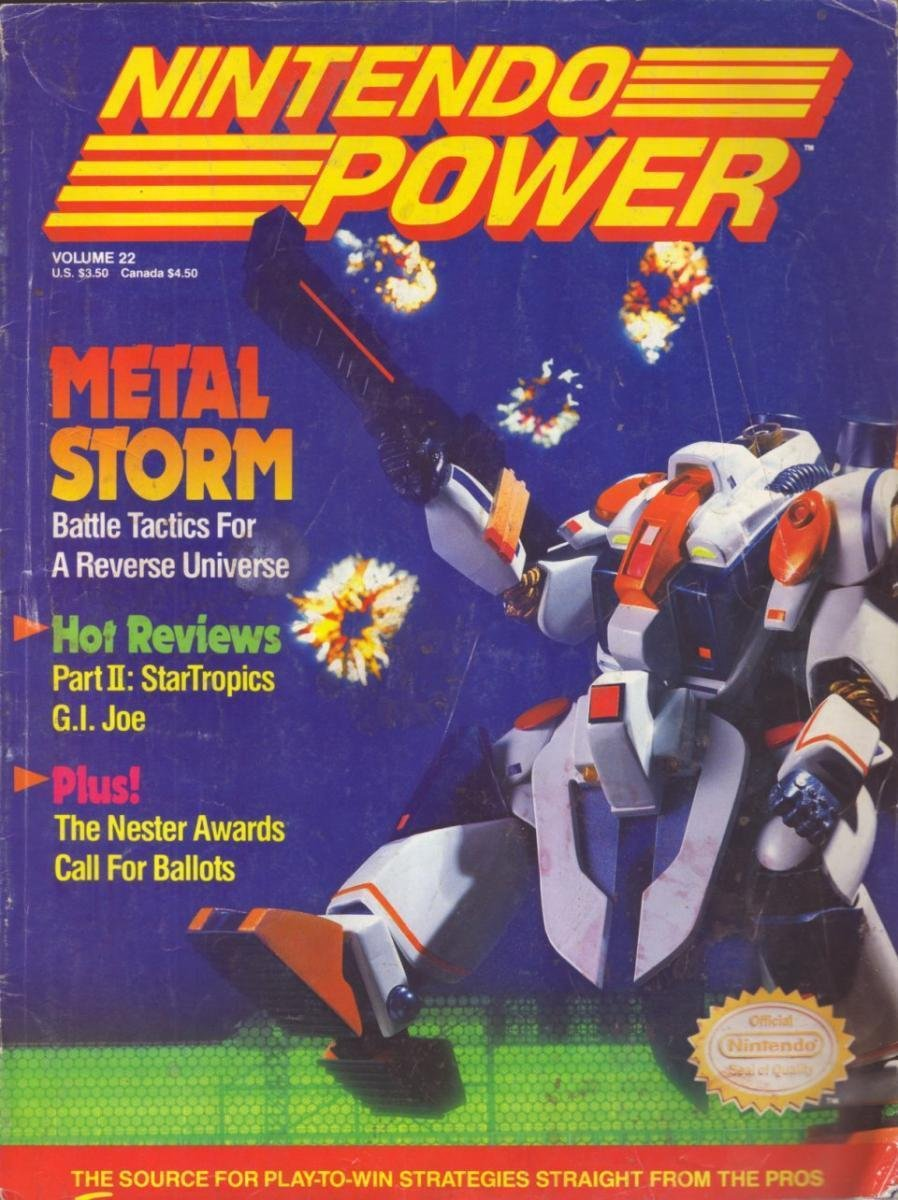 Nintendo Power Issue 022 (March 1991)