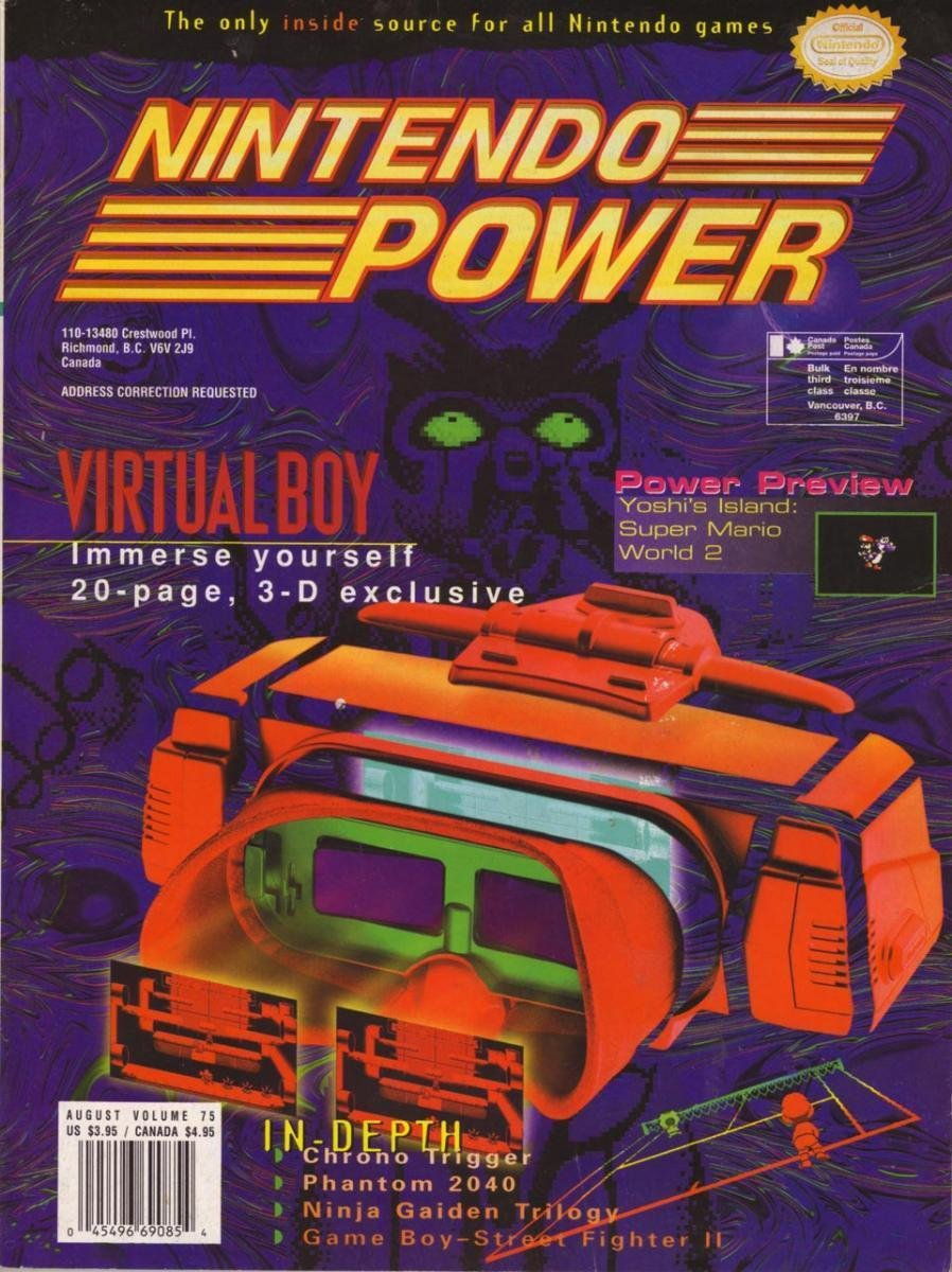 Nintendo Power Issue 075 (August 1995)