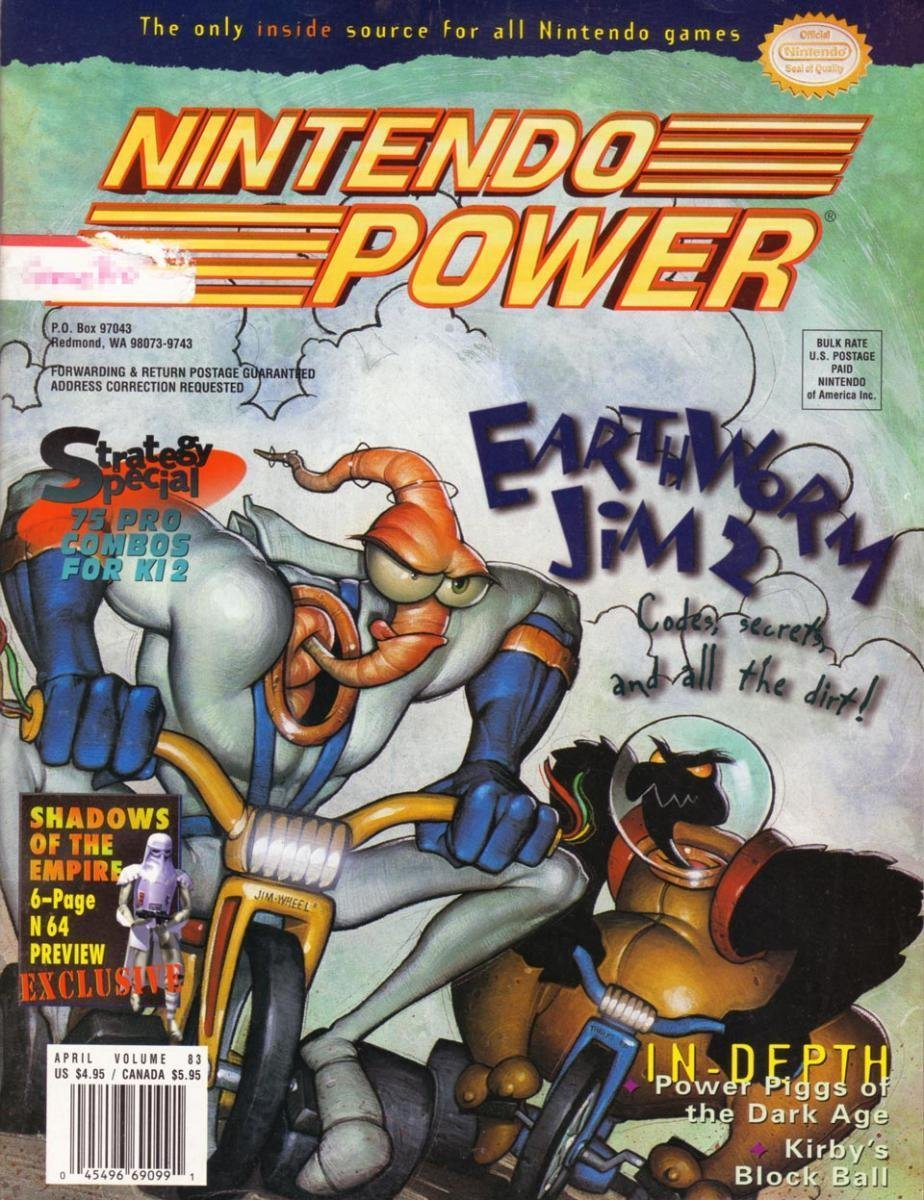 Nintendo Power Issue 083 (April 1996)