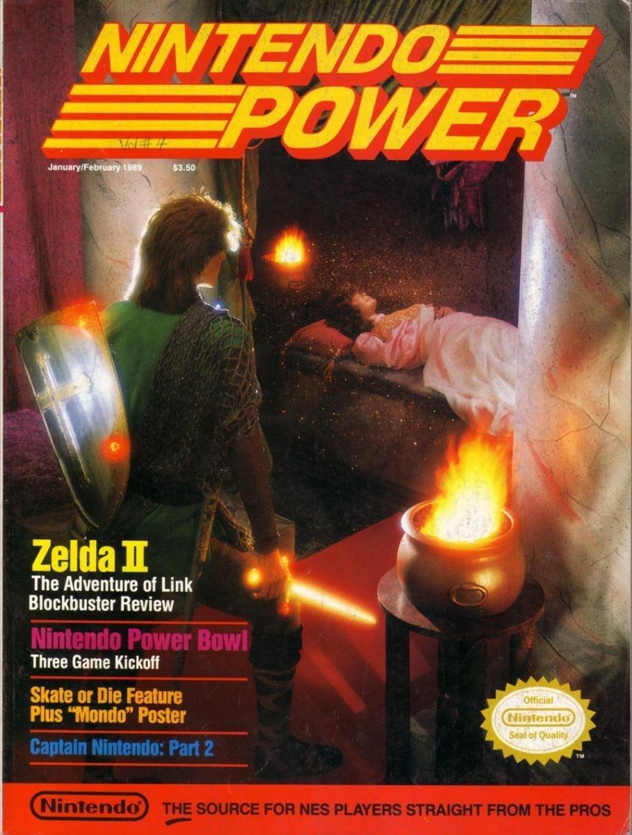 Nintendo Power Issue 004 (January/February 1989)