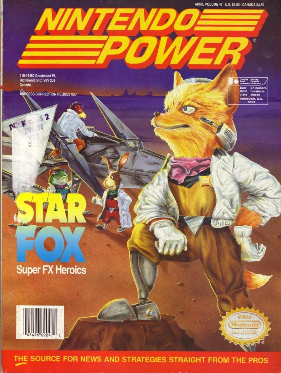 Nintendo Power Issue 047 (April 1993)
