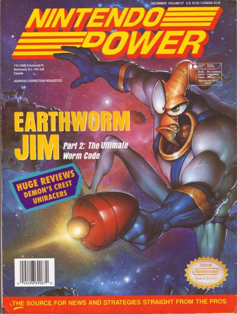 Nintendo Power Issue 067 (December 1994)