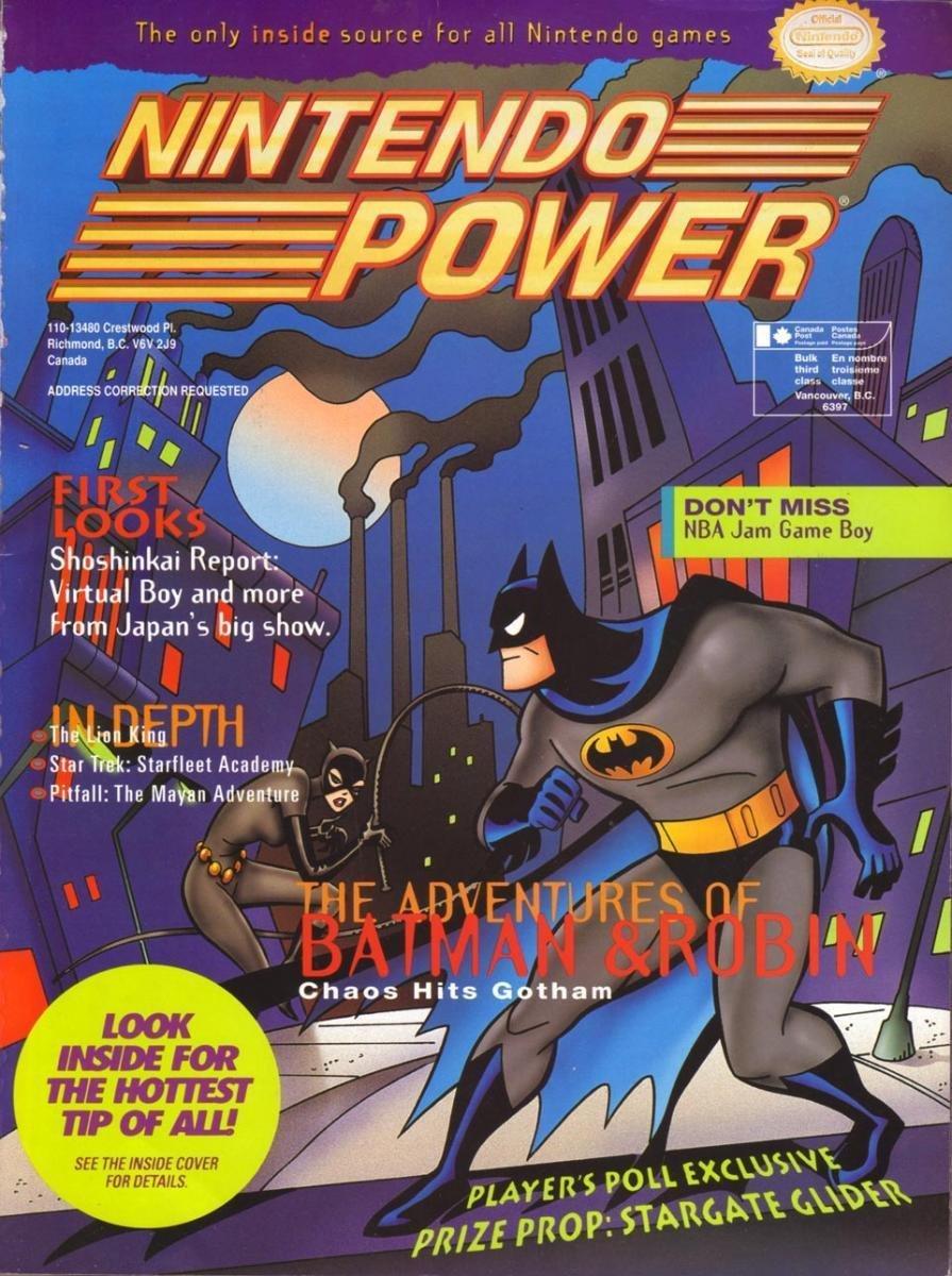 Nintendo Power Issue 068 (January 1995)