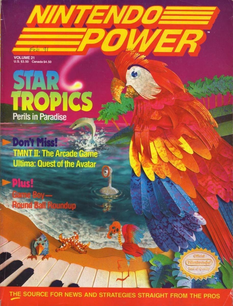 Nintendo Power Issue 021 (February 1991)