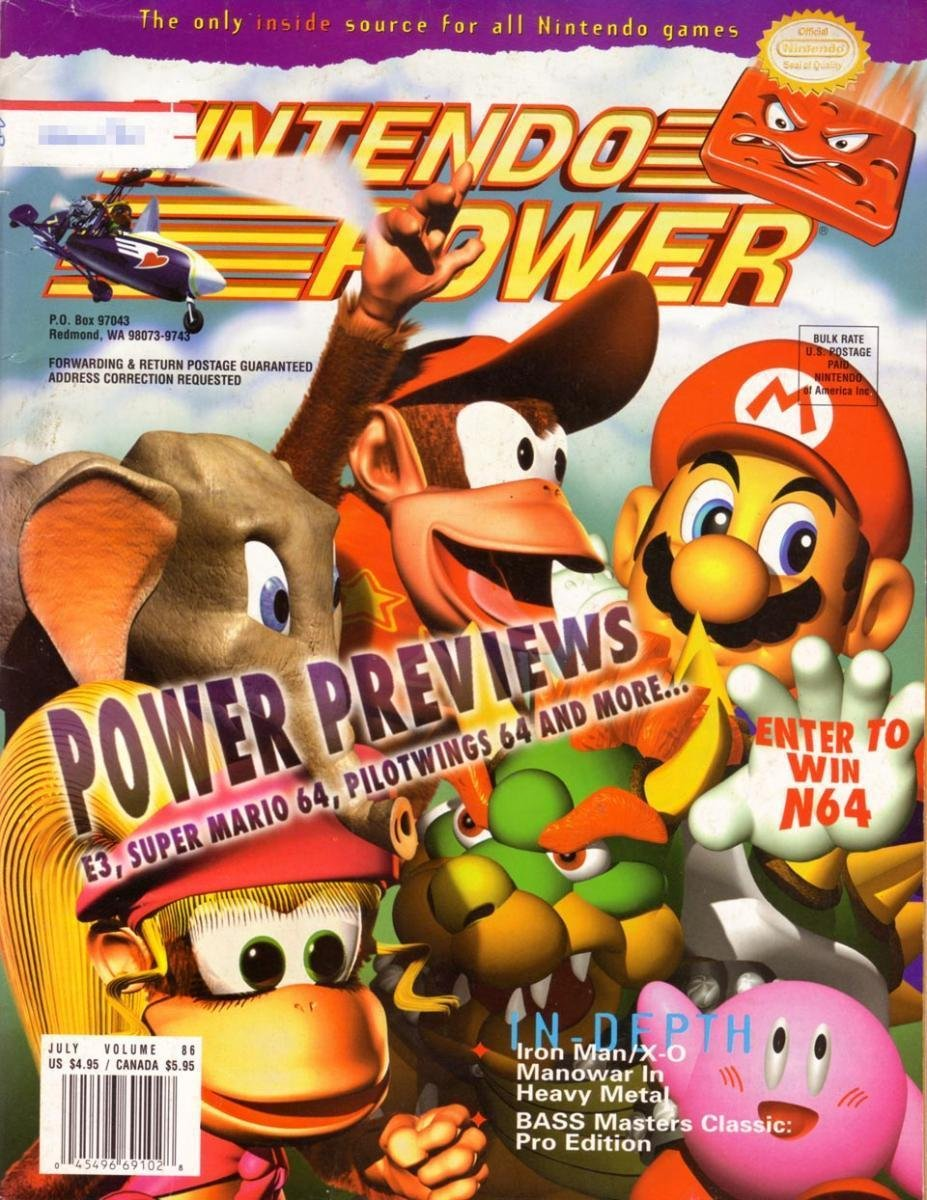 Nintendo Power Issue 086 (July 1996)