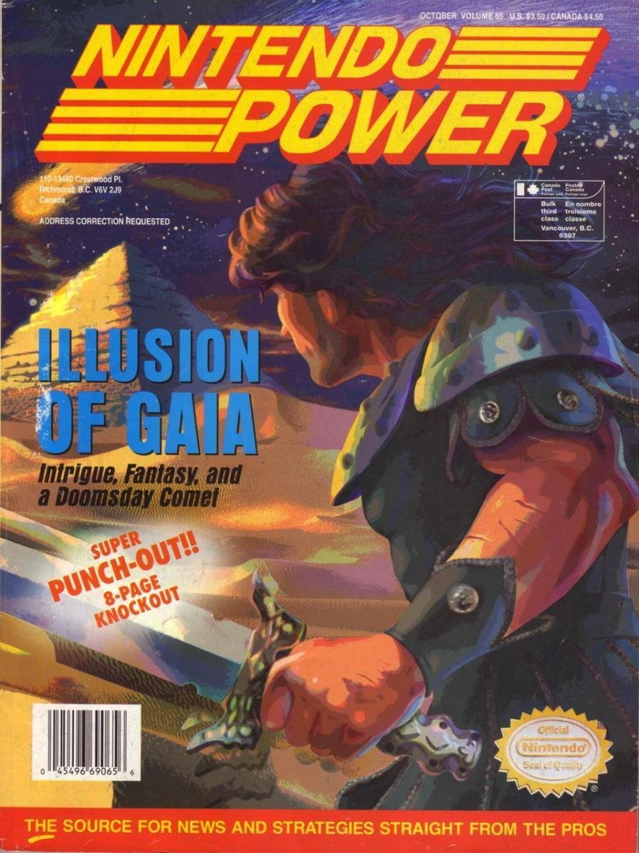 Nintendo Power Issue 065 (October 1994)