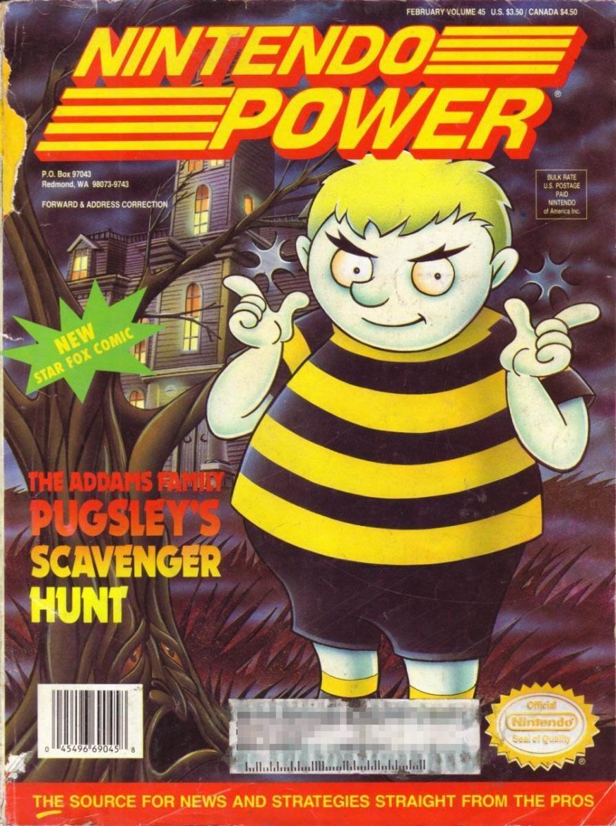 Nintendo Power Issue 045 (February 1993)
