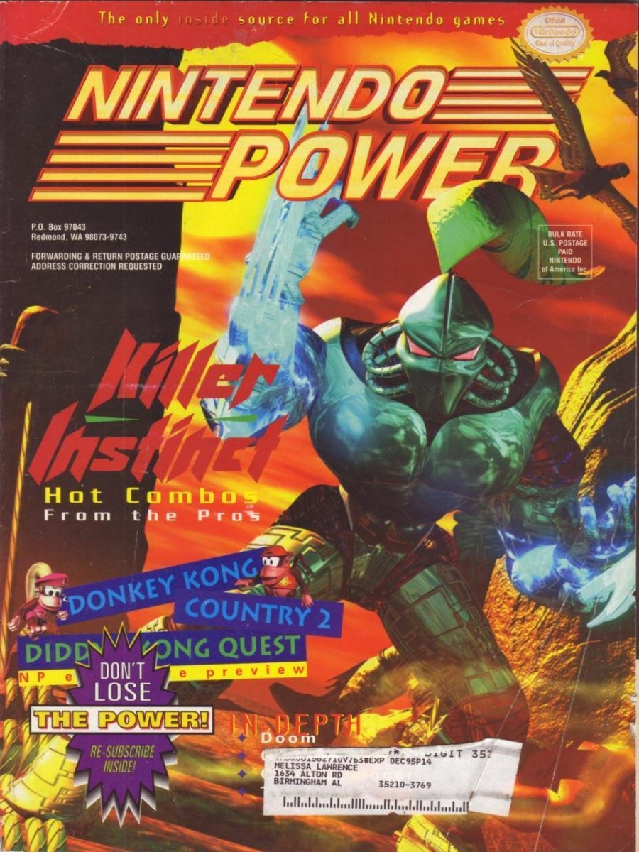 Nintendo Power Issue 076 (September 1995)