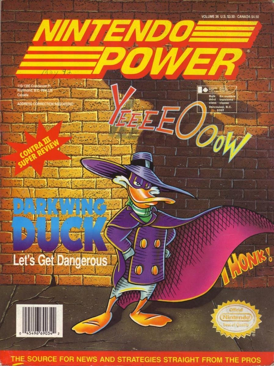 Nintendo Power Issue 036 (May 1992)