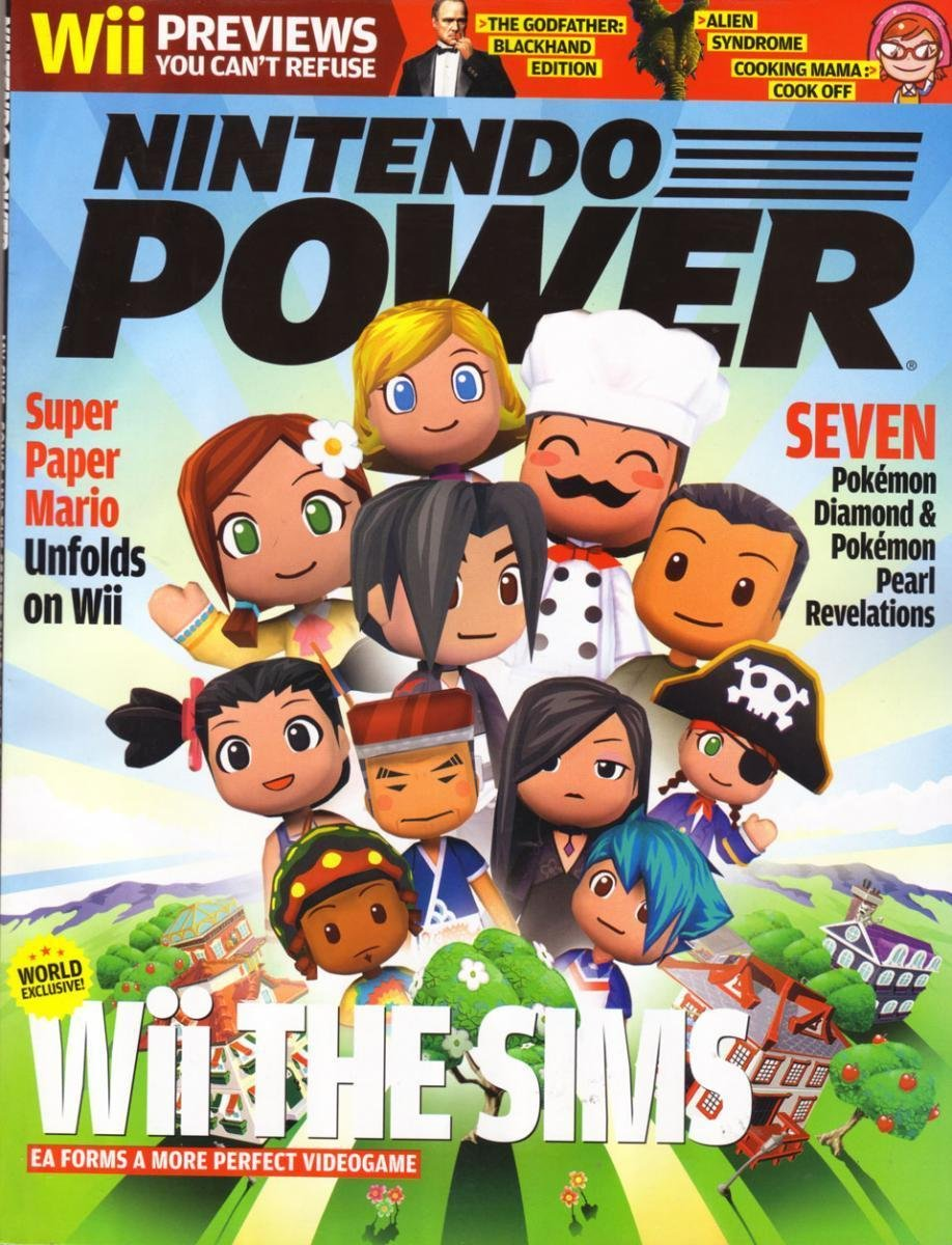 Nintendo Power Issue 214 (April 2007)