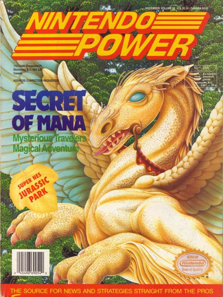 Nintendo Power Issue 054 (November 1993)