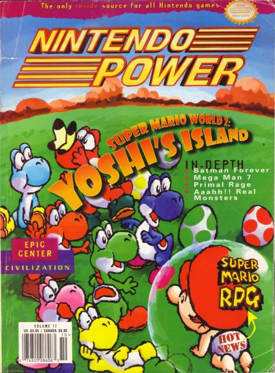 Nintendo Power Issue 077 (October 1995)