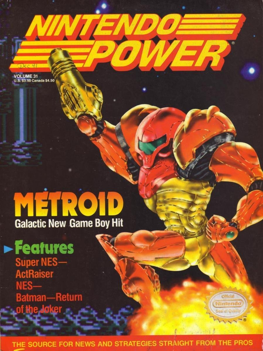 Nintendo Power Issue 031 (December 1991)