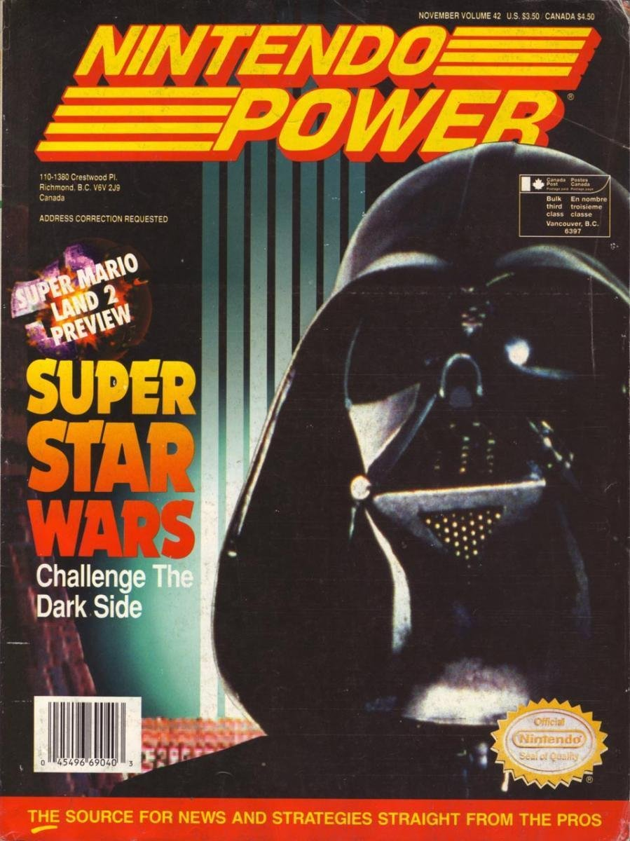 Nintendo Power Issue 042 (November 1992)
