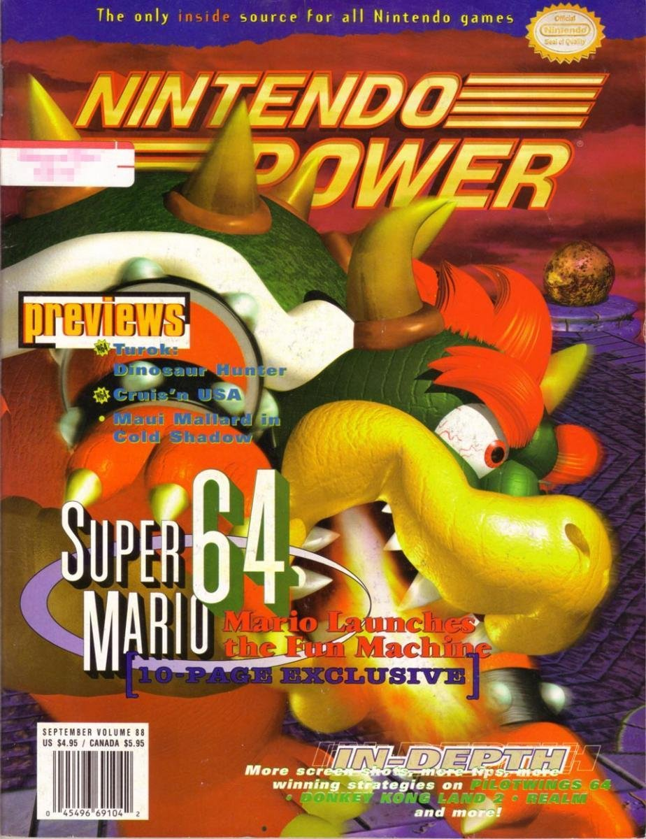 Nintendo Power Issue 088 (September 1996)
