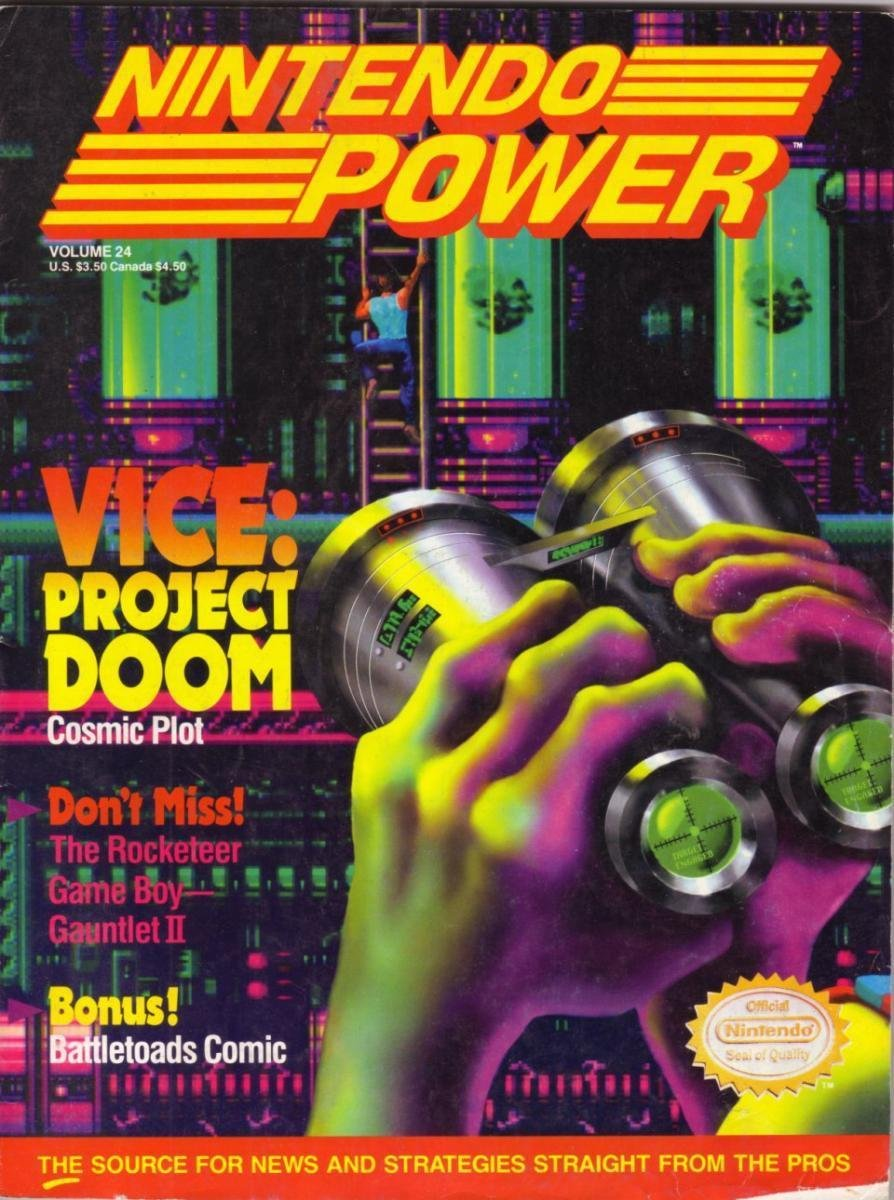 Nintendo Power Issue 024 (May 1991)