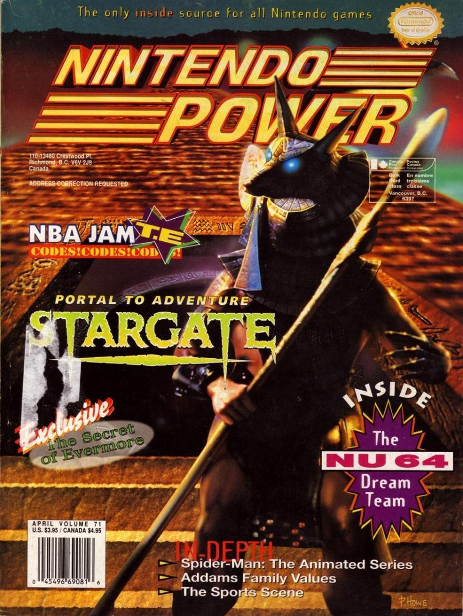 Nintendo Power Issue 071 (April 1995)