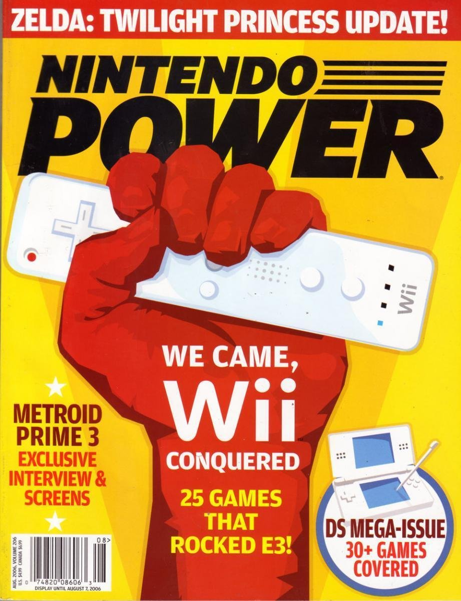 Nintendo Power Issue 206 (August 2006)