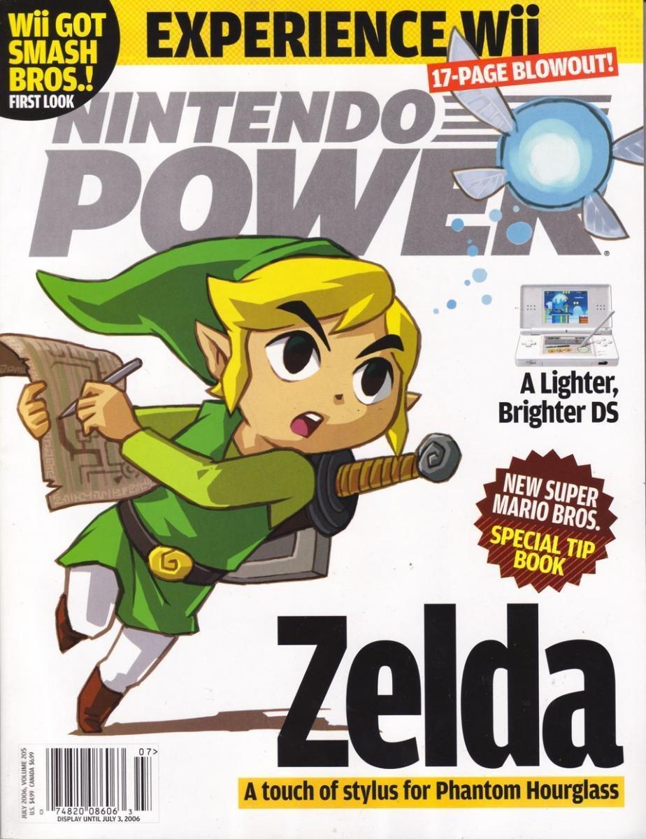Nintendo Power Issue 205 (July 2006)